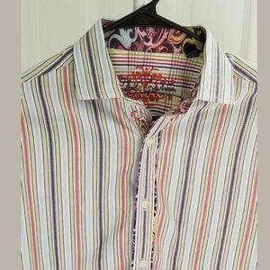 Robert Graham Men's Button Front Shirt